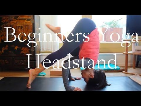 headstand tutorial  3 levels from beginner to
