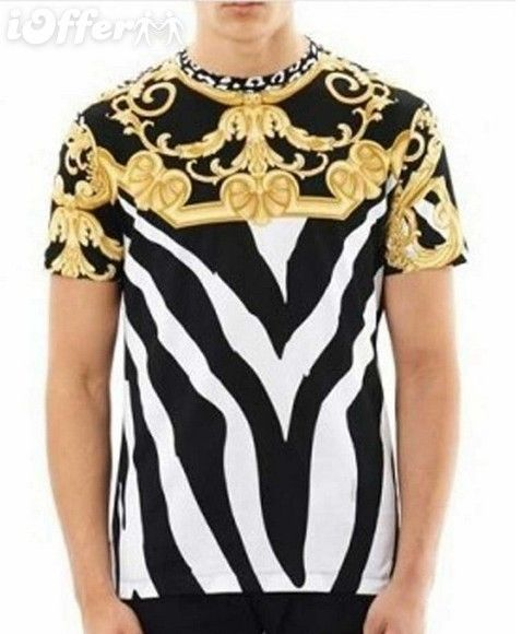 4cbadb28c Versace T-shirt - $31 meilixinqing57   The T-shirt in 2019   Versace ...