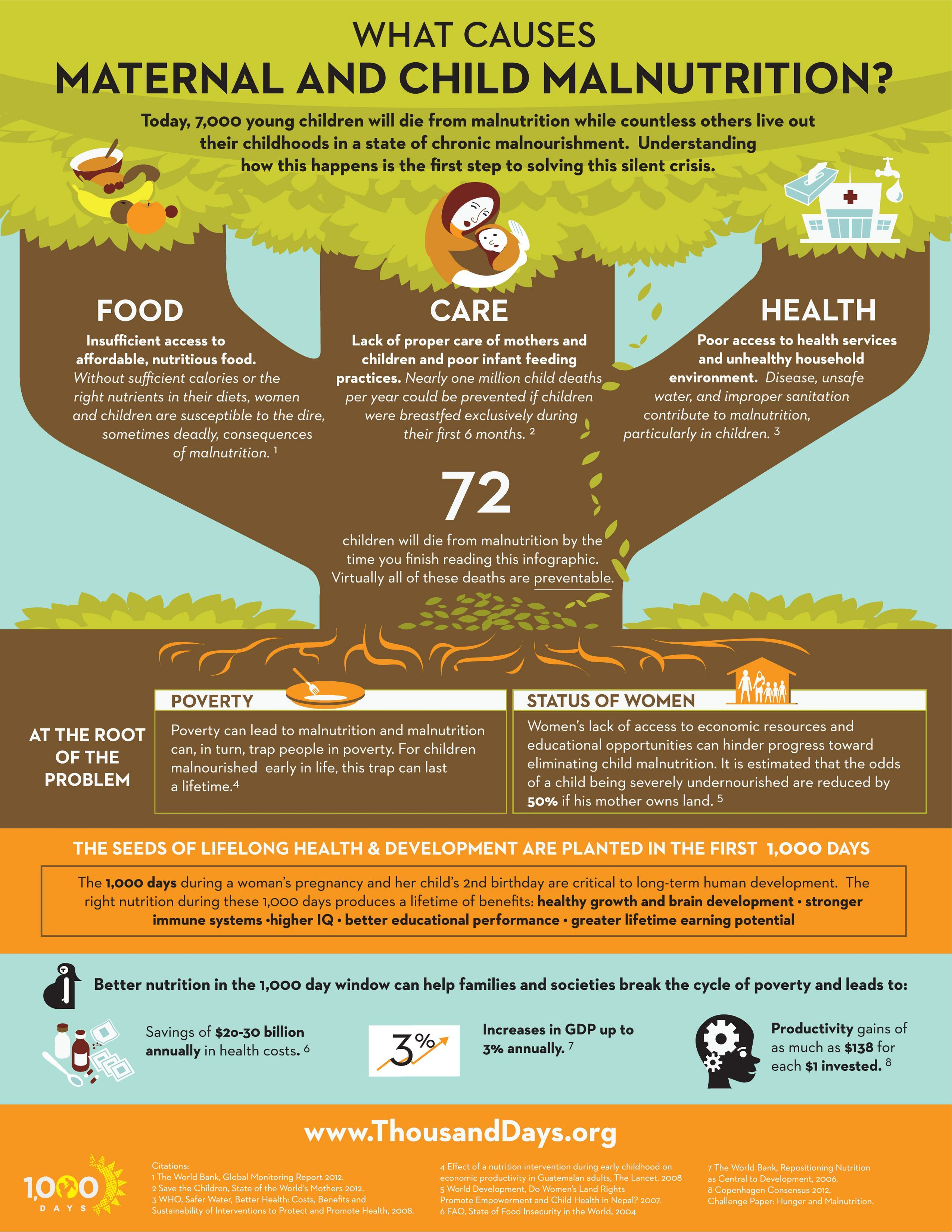 The Importance Of Nutrition In The First 1 000 Days Malnutrition
