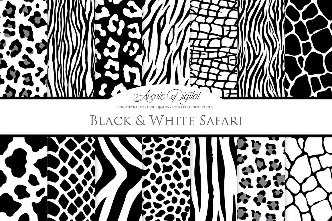 Black And White Animal Prints Texture Photography Animal Print