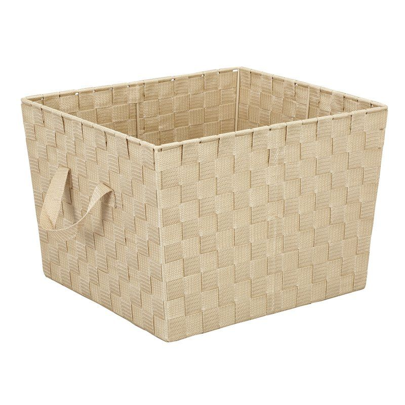 f1514e851d26454ea012b5caf3362cb1 - Better Homes And Gardens Woven Storage Bin Brown Durable Construction