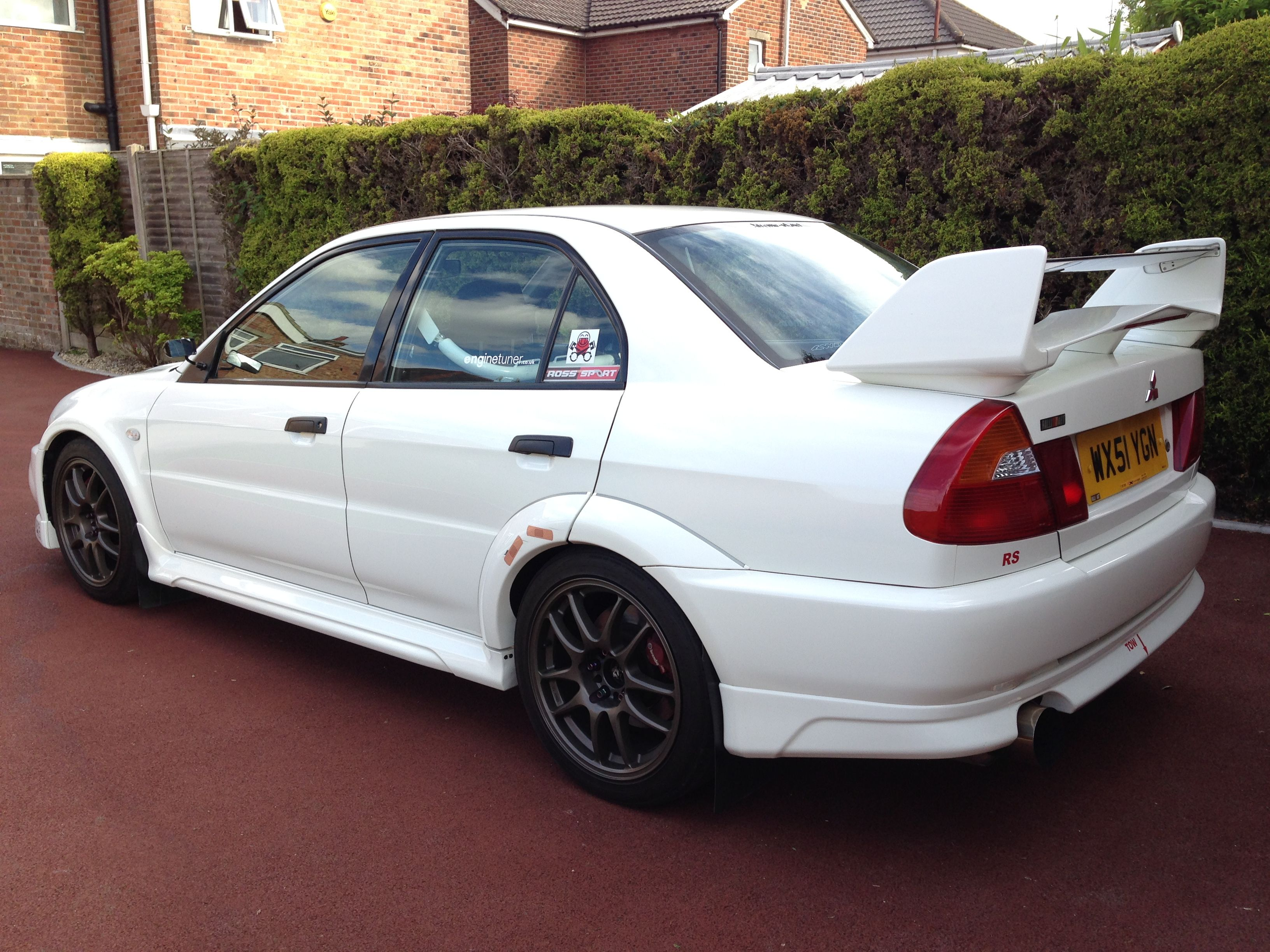 Pin by Christopher Grant on My car Evo 6 Mitsubishi