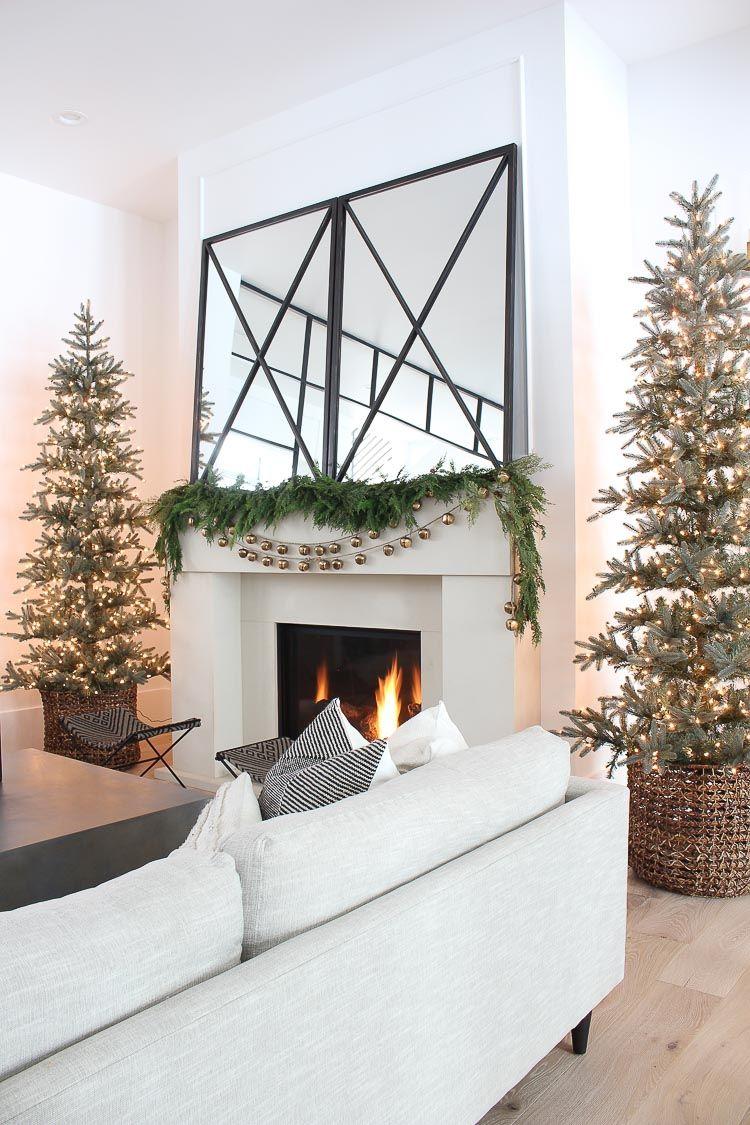 Winter Wonderland Christmas Home Tour: Living Room and ...