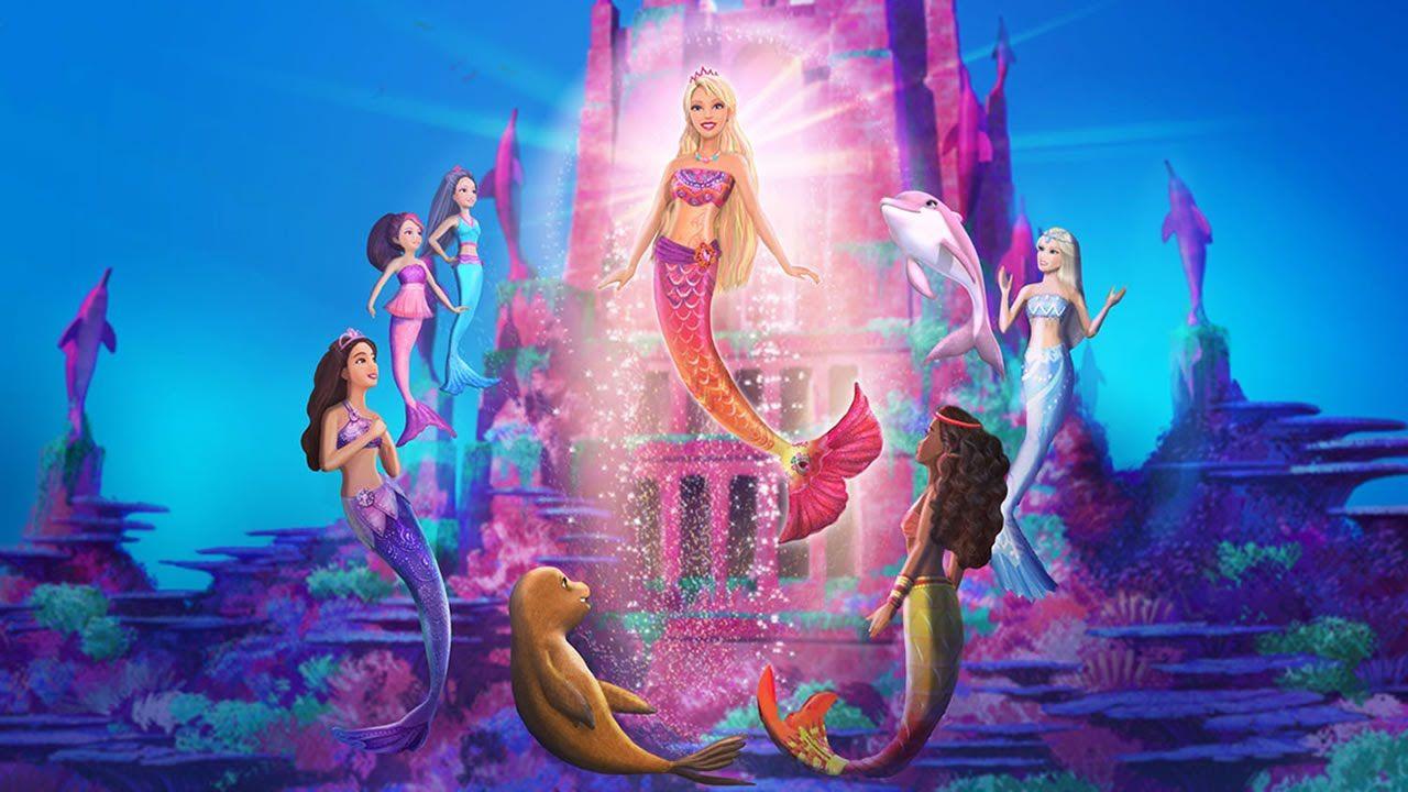 Barbie Sirena Buscar Con Google Barbie Sirena Películas De Barbie Cuento De Sirena