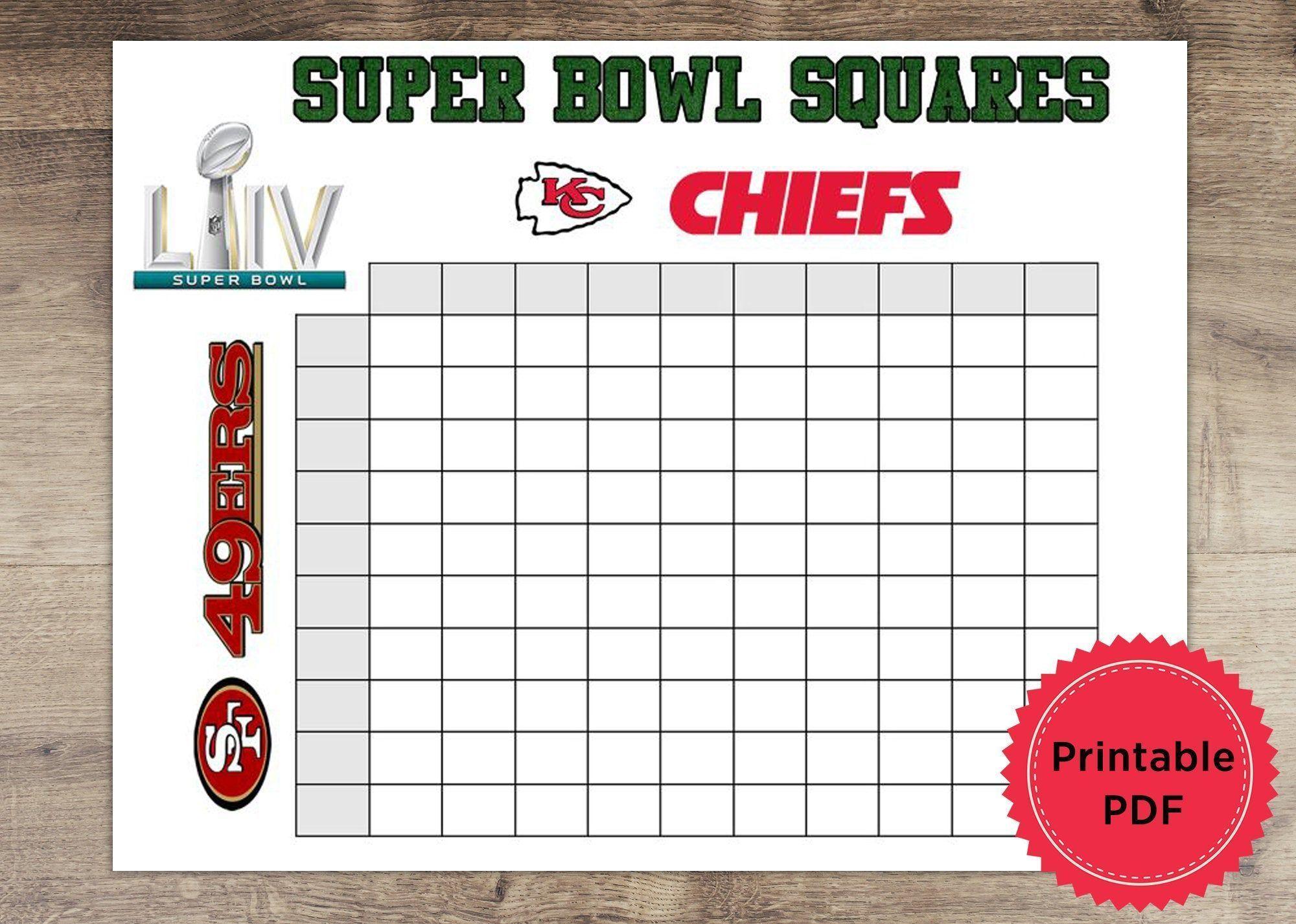 Super Bowl 54 Coloring Pages