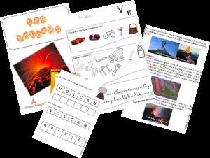 Au Coeur Des Volcans A La Maternelle Volcan Maternelle Activite Maternelle