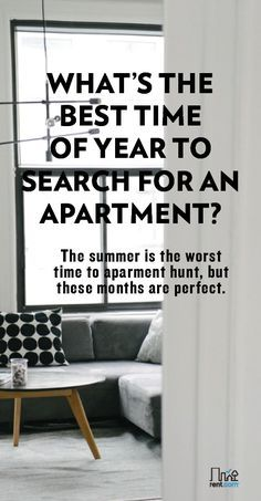 What S The Best Time Of Year To Rent An Apartment With Images