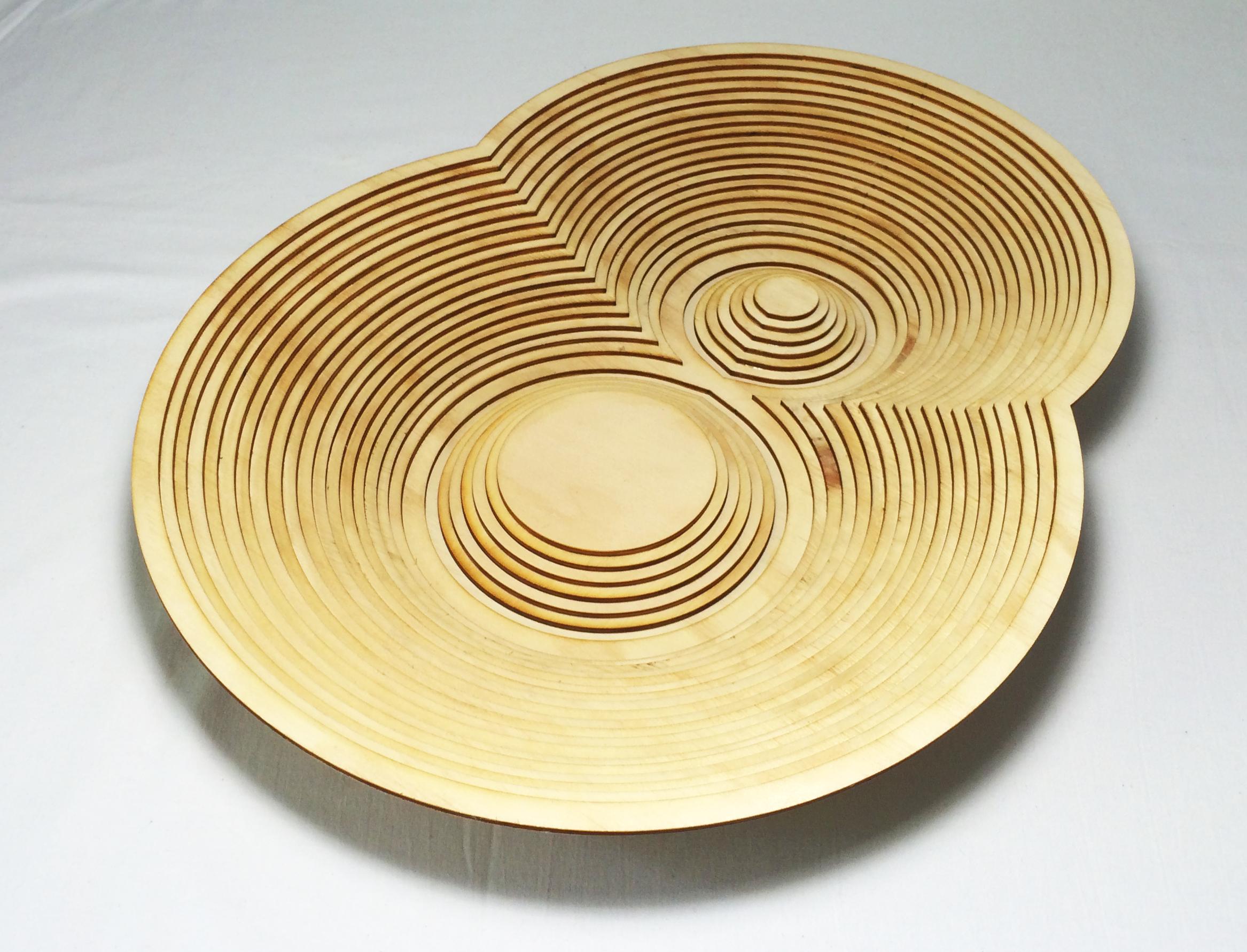 Contour Bowl by Marguerite Designs