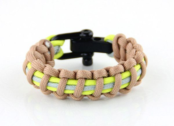 Bunker Gear Paracord Bracelet With Images Firefighter