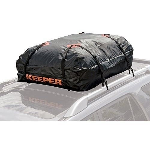 Car Rooftop Cargo Bag Waterproof Luggage Carrier Holder Travel Soft Suv Storage Keeper