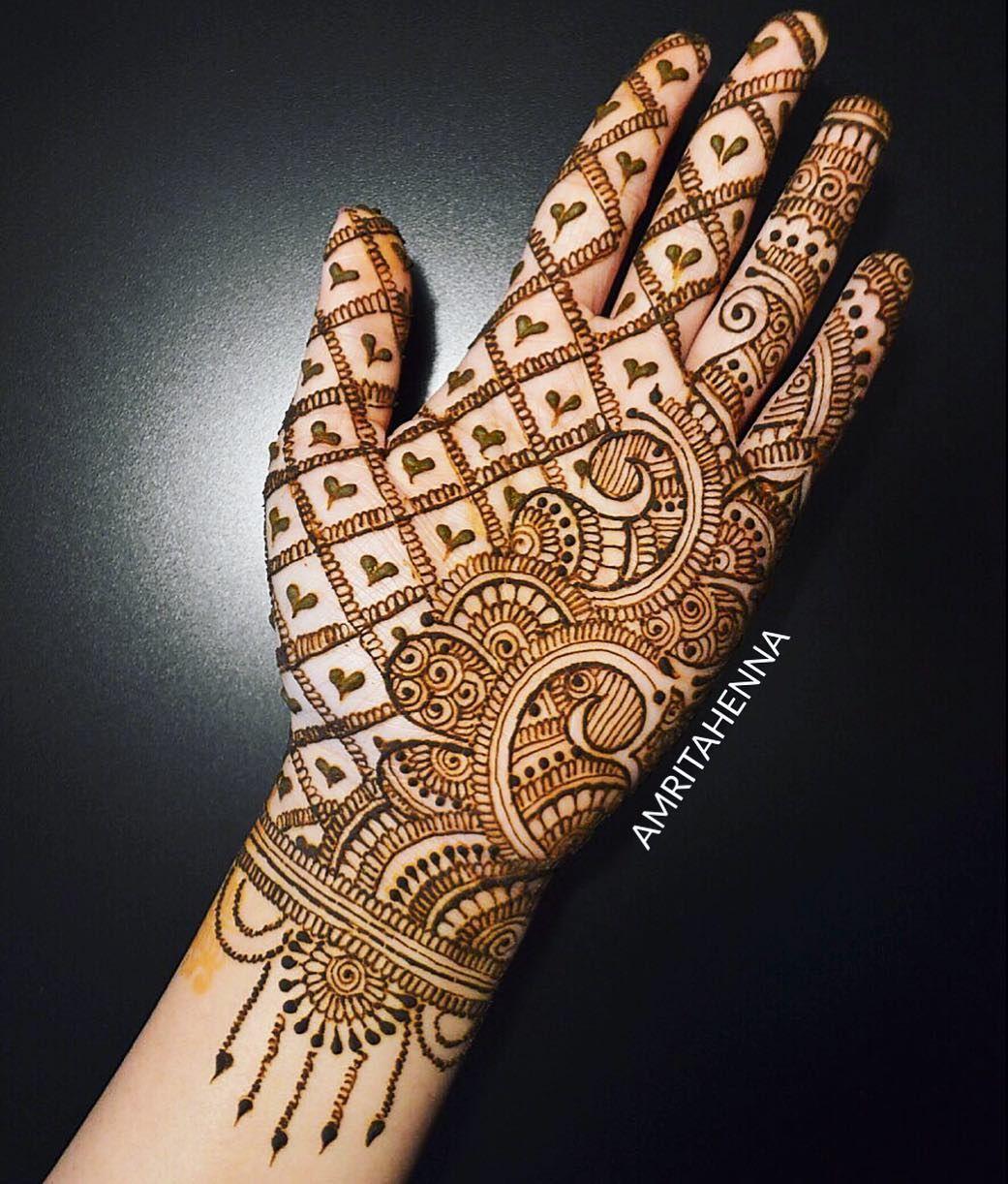 simple easy arabic pakistani mehndi