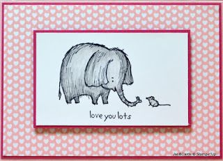 JanB Handmade Cards Atelier: Stamp Set - Love You Lots
