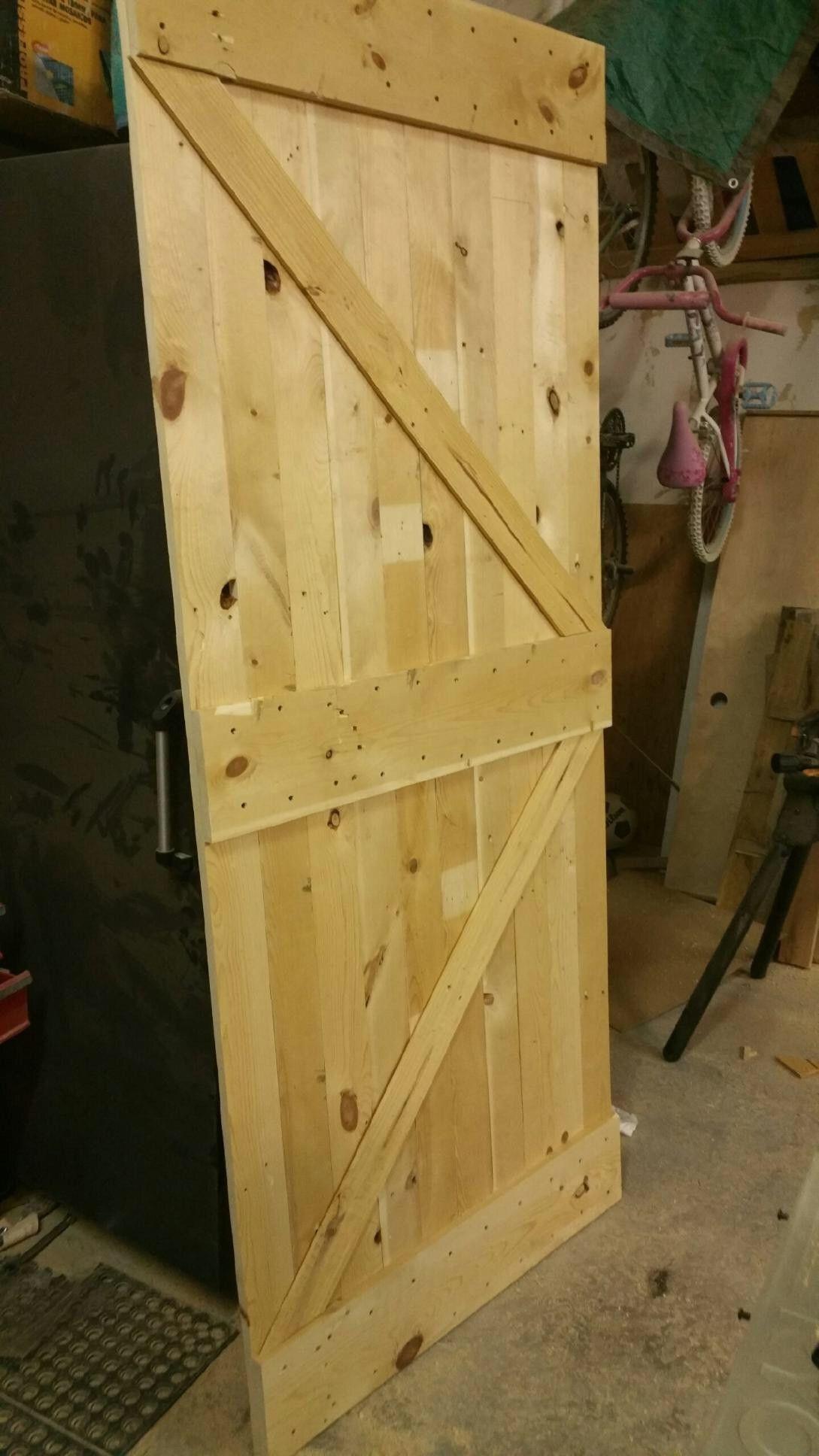 Custom Barn Door Order