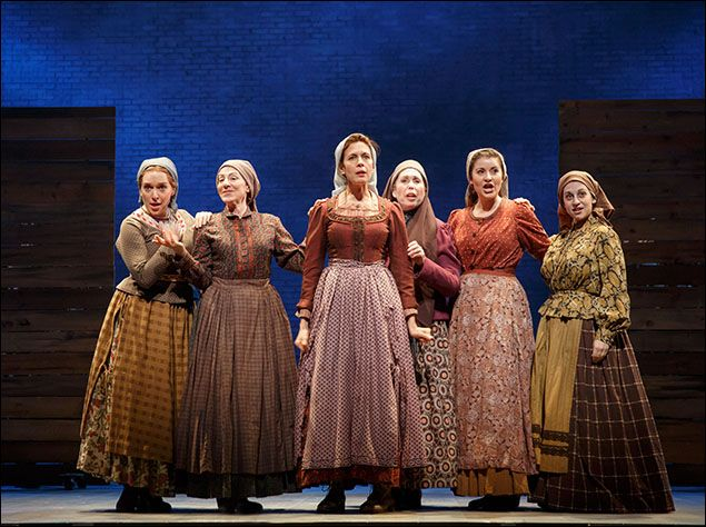 Jessica Vosk Photo Image Gallery Fiddler On The Roof Fiddler Broadway Costumes
