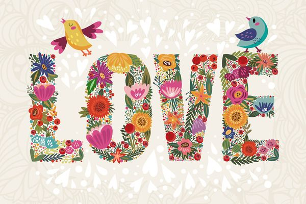 Oh, my spring! ~ Illustrations on Creative Market