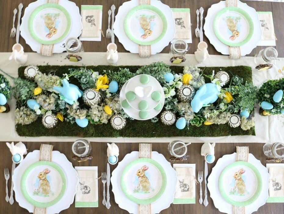 14 Farmhouse Easter Decor In 2020 With Images Farmhouse Easter