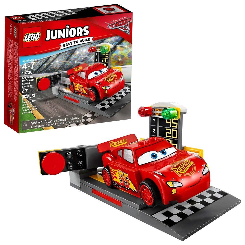 Lego Juniors Disneypixar Cars 3 Lightning Mcqueen Speed Launcher 10730 Lego Juniors Cars 3 Lightning Mcqueen Lightning Mcqueen