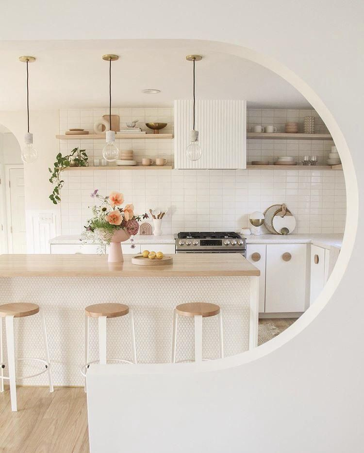 Round Divider Separating Kitchen And Living Room Toronto 1080x608 Check Out Desigedecors Com To Get More Inspiration In In 2020 Modern Kitchen Kitchen Projects Home #separate #kitchen #from #living #room