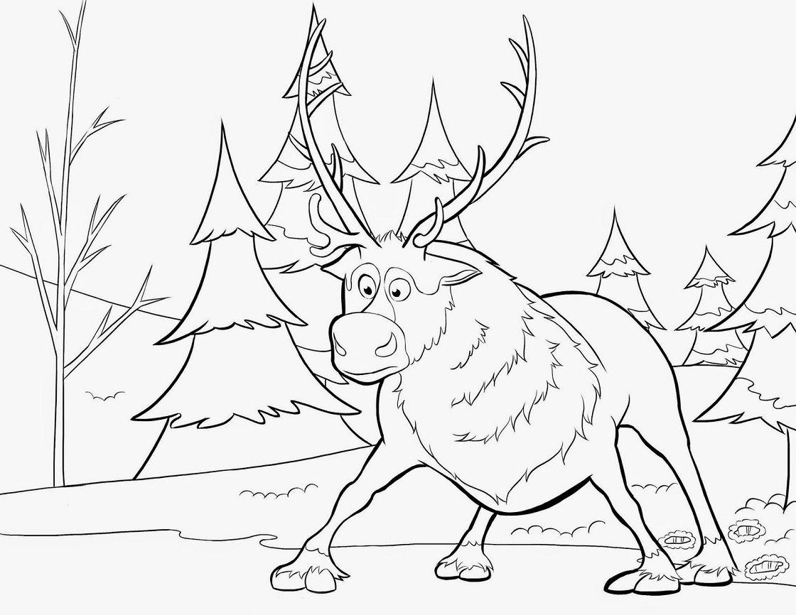 Desenhos Do Frozen Para Colorir- Elsa, Anna, Olaf…Pintar