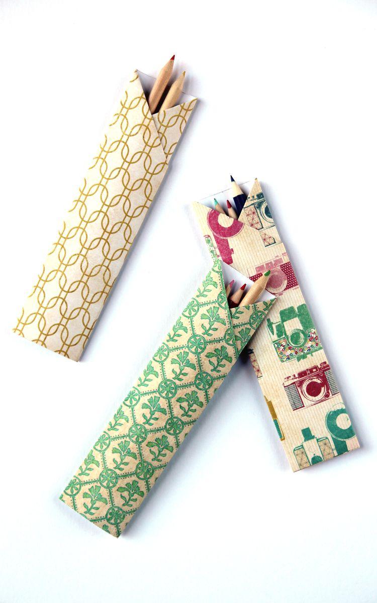 How to Make a Origami Pen/ Pencil Holder /Hexagonal Pen | Pencil ... | 1200x750