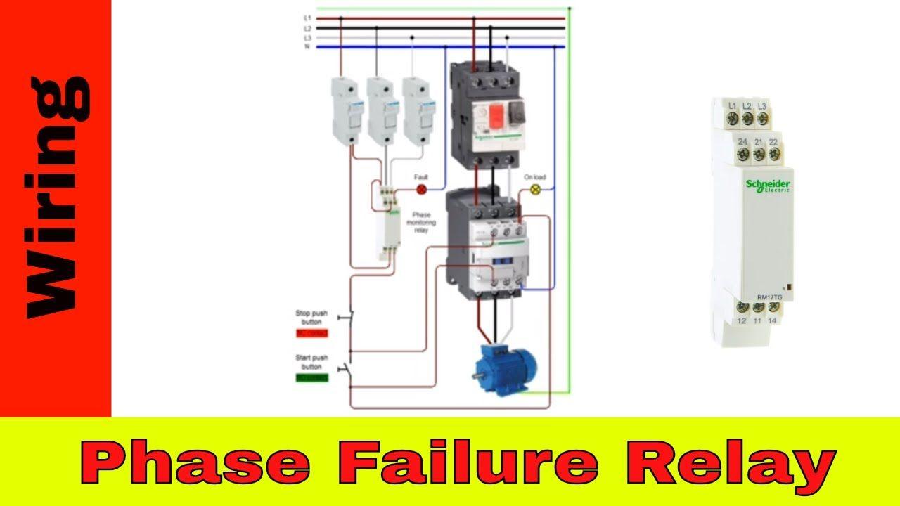 Phase Failure Relay Wiring Locker Storage Relay Siemens Logo