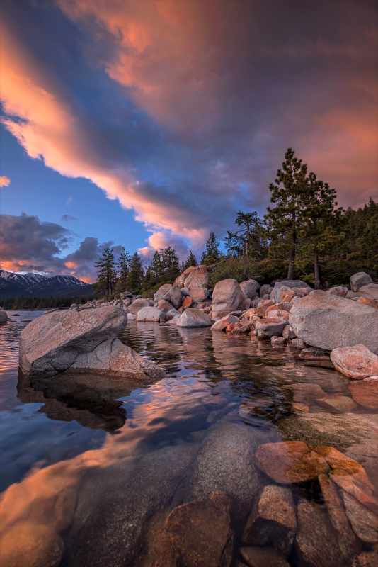 Bliss Sunset Lake Tahoe California By Etherealsceneries Landscape Scenery Nature Photography Landscape Photography