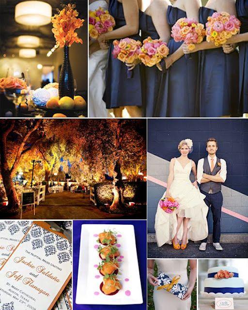 91 Best Coastal Color Inspiration Navy Teal Orange And Grey Images On Pinterest: Best 25+ Navy Orange Weddings Ideas On Pinterest