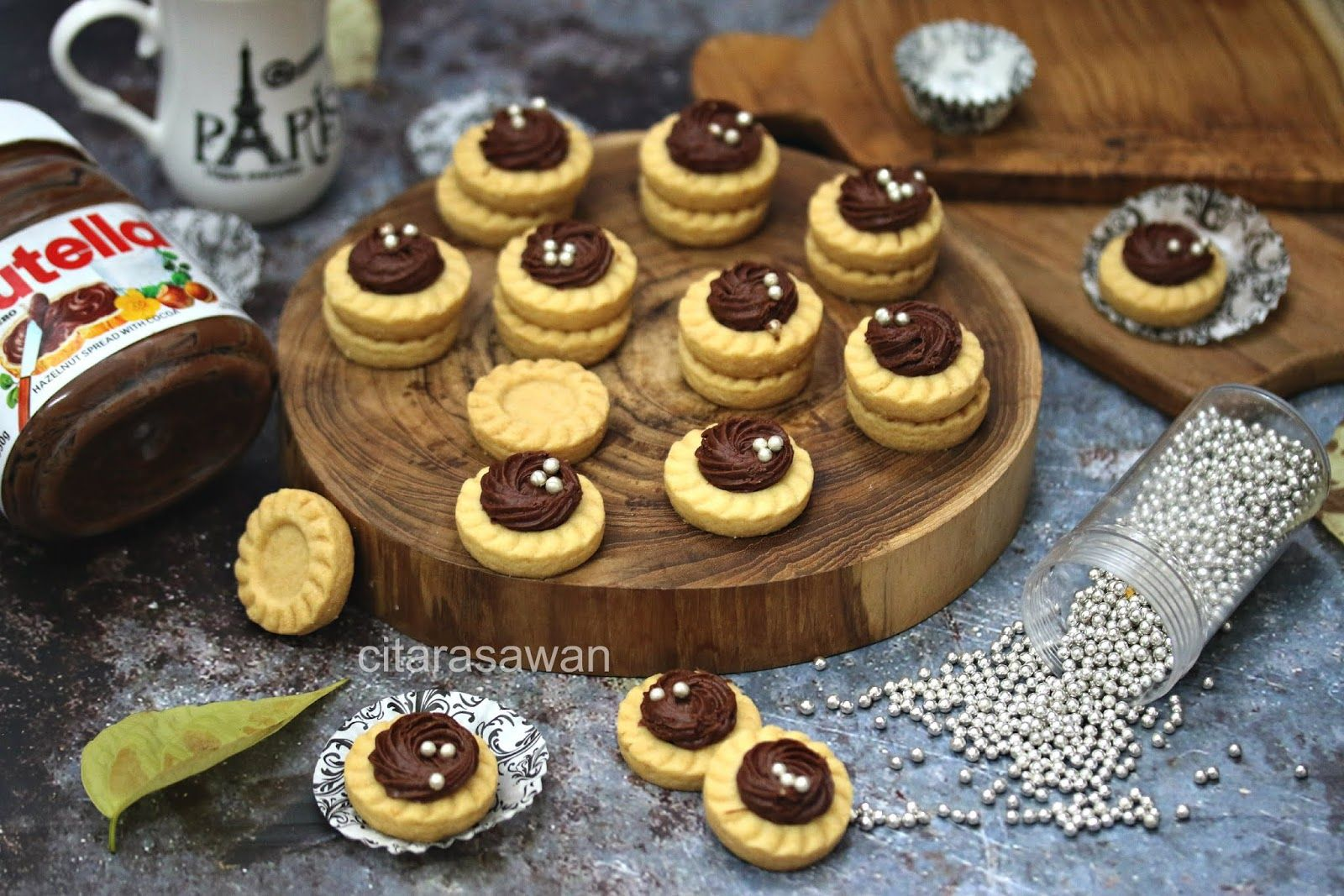Tart Nutella Resepi Terbaik Nutella Resep Biskuit Resep Masakan Ramadhan