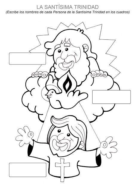 El Rincón de las Melli: La Santísima Trinidad para completar y ...