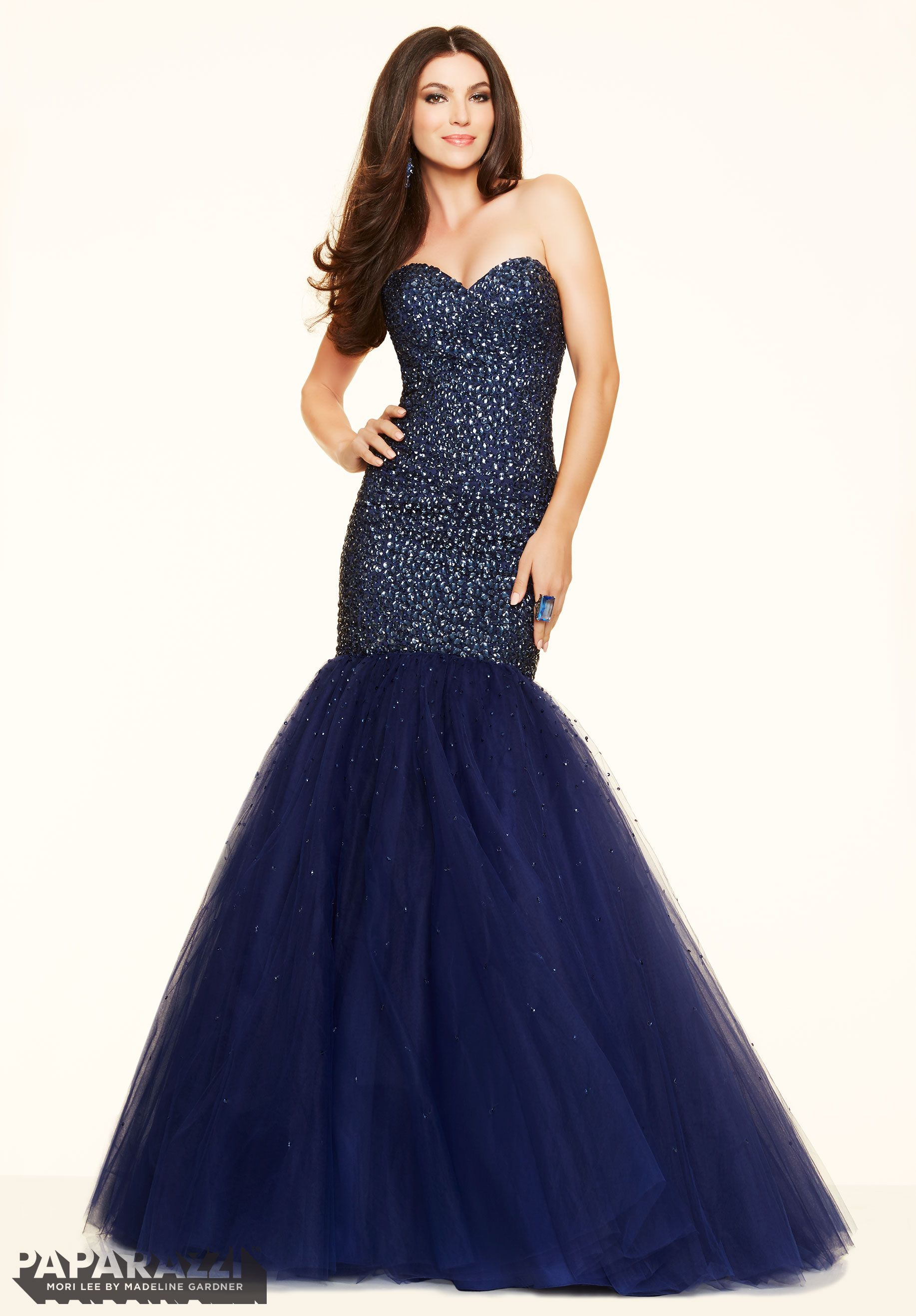 Prom dresses by Paparazzi style number 97103. Prom Tulle with Tonal ...