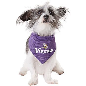 online retailer bacea d326e Minnesota Vikings NFL Dog Bandana (cover dog worthy mention ...