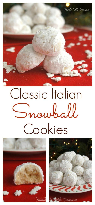 Snowball Cookies Recipe Snowball cookies, Italian