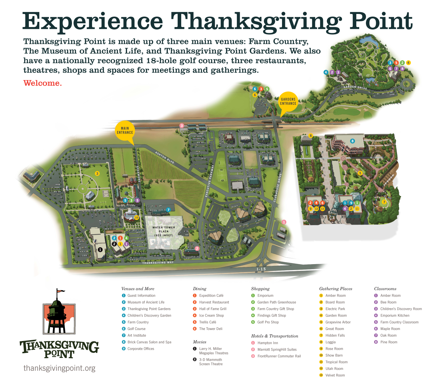 Http Www Thanksgivingpoint Org Images 2017propertymap Png