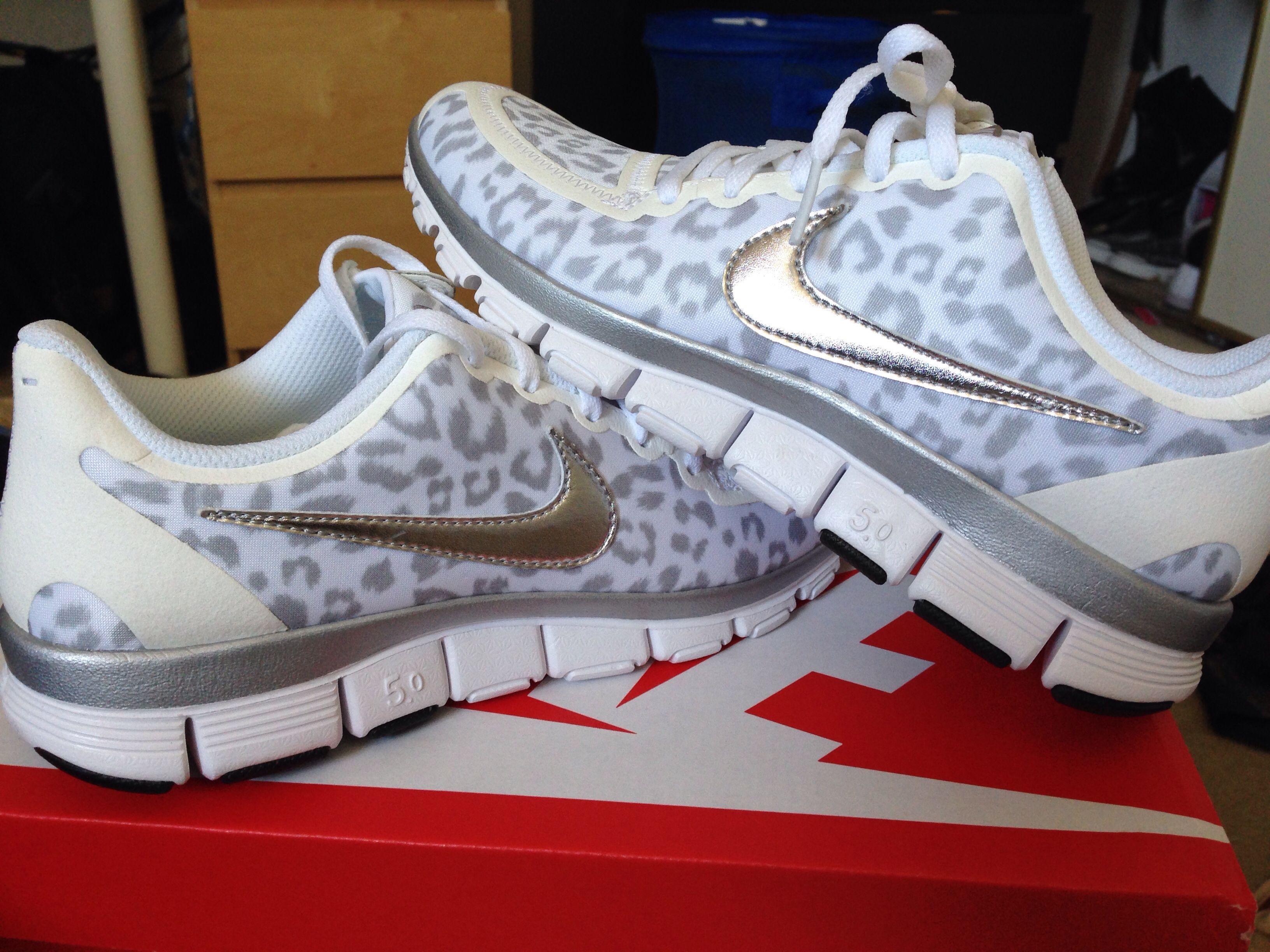 1c70aac9120f Cheetah print Nike 5.0 Free Runs Love Love Love❤