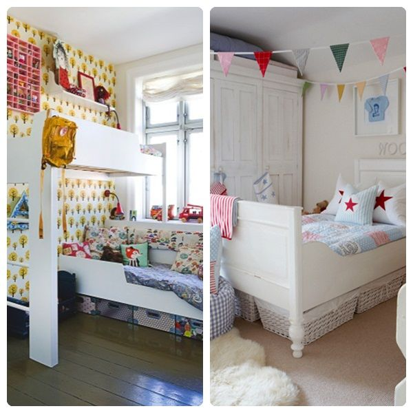 C mo decorar habitaciones infantiles peque as kid rooms pinterest decorar habitacion - Habitaciones infantiles pequenas ...