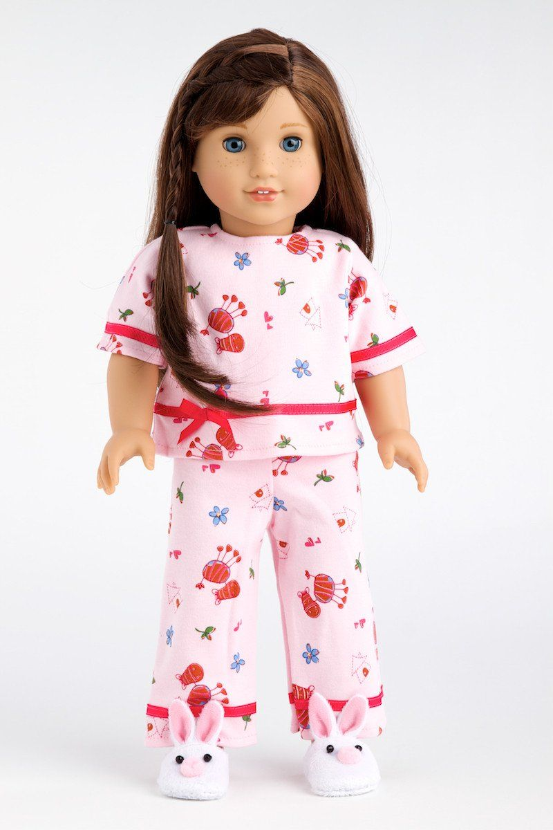 Owl Shirt 18 in Doll Clothes Fits American Girl Cutest Owl Pant Set Owl Vest