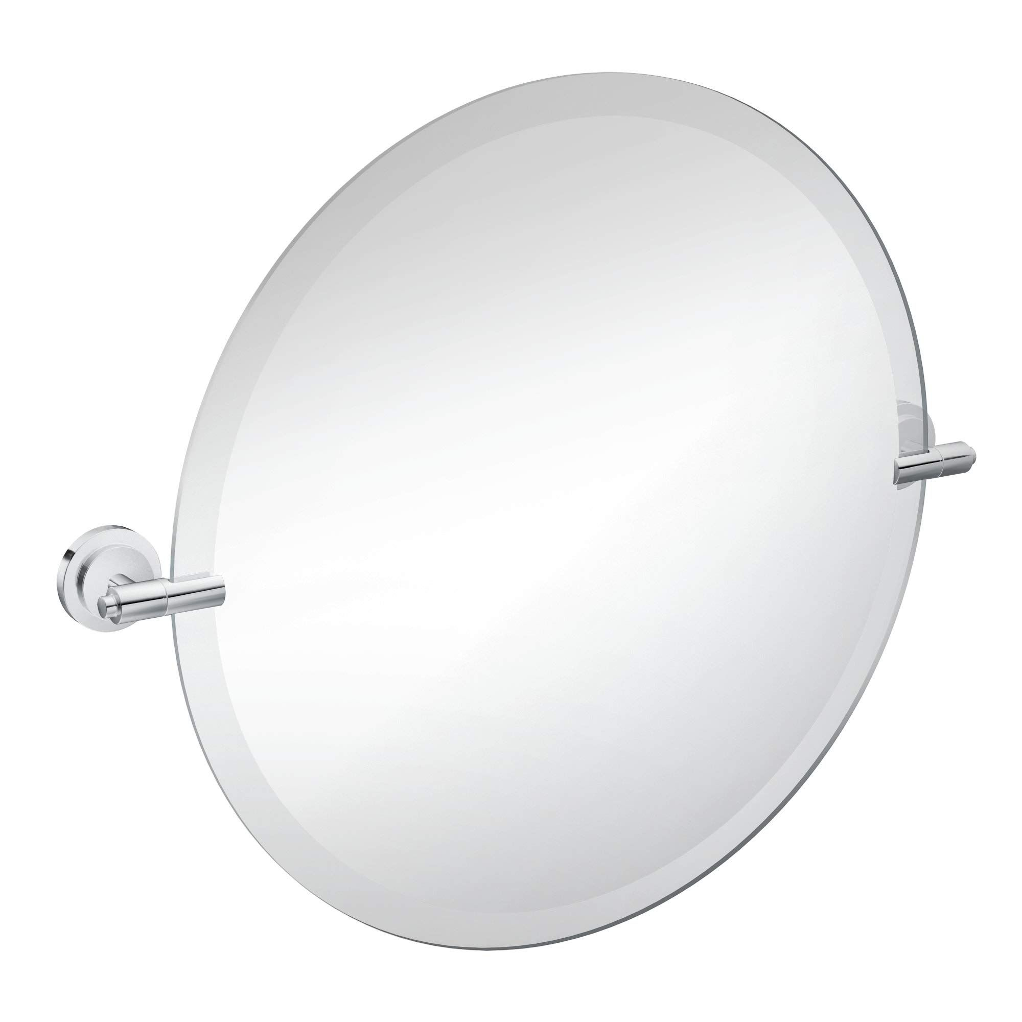 Moen Dn0792ch Iso 22 Inch X 22 Inch Frameless Pivoting Bathroom Tilting Mirror Chrome You Can Get Additional Detai In 2020 Vanity Mirror Mirror Wall Mounted Vanity