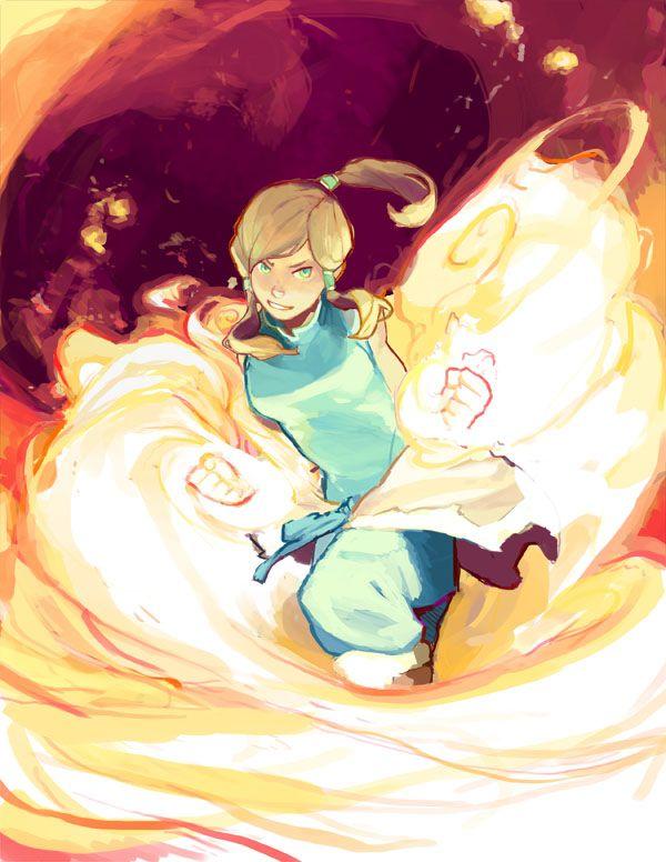 Tags: Anime, Fire, Avatar: The Legend of Korra, Hair Tubes, Korra, HotaruArc