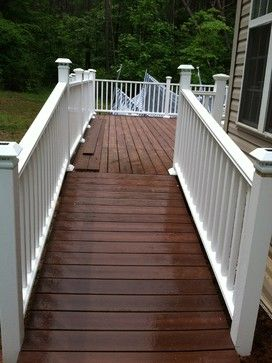 Best Mahogany Color Deck Google Search Deck Vinyl Railing 400 x 300