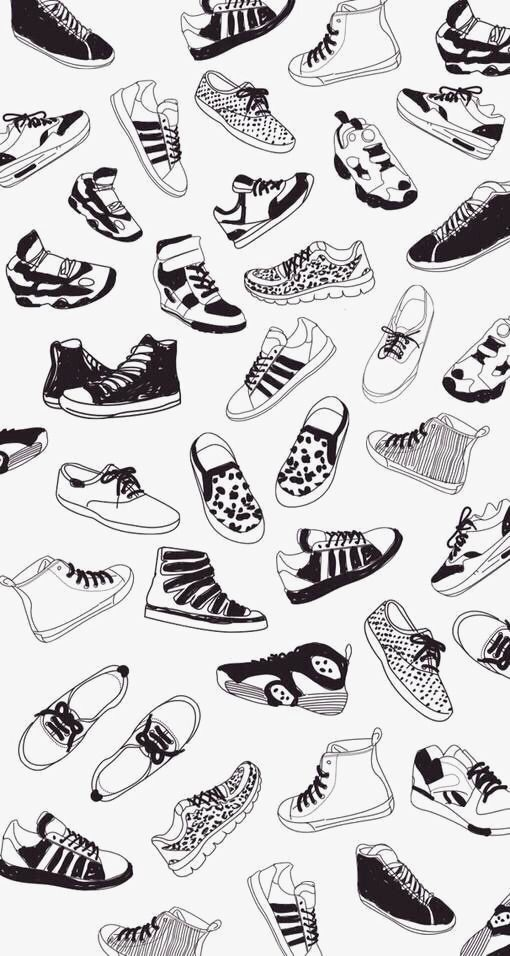 Hand Painted Shoes Background Png And Clipart Shoes Wallpaper Shoes Clipart Hand Painted Shoes