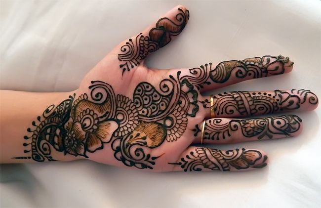 Mehndi Patterns Images : Stylish mehndi designs for front hand fashi