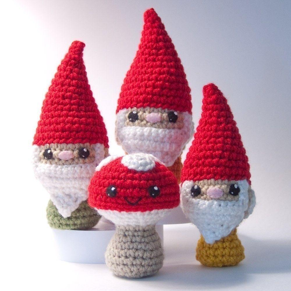 Things I Like: Gnomes   Häkeln, Kreativ und Weihnachten