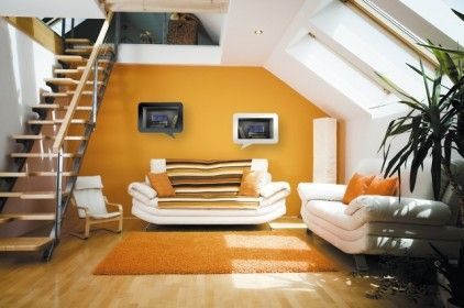 Mustard yellow accent wall  want to do this