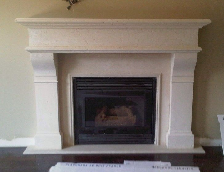 Breathtaking Wall Mounted Fireplace Ideas: Comely Wall Mounted ...