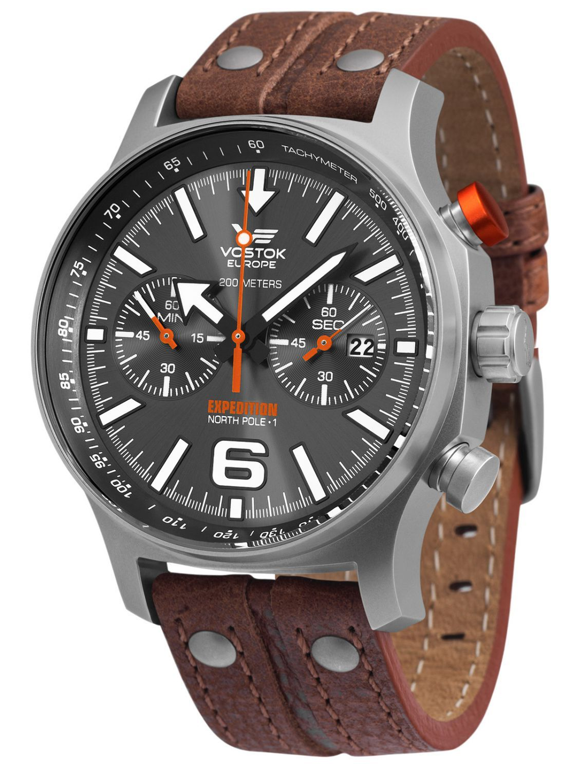 1c1699ef3c4 VOSTOK EUROPE Expedition Nordpol 1 Mens Chronograph 5957242