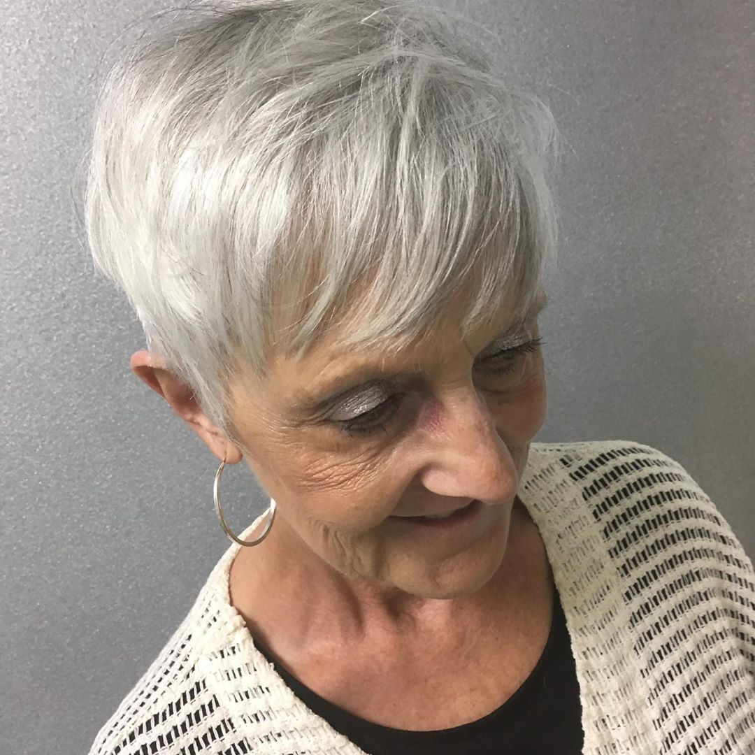 70 Gorgeous Short Hairstyles Trends Ideas For Women Over 50 In 2020 In 2020 Short Hair Styles Hair Styles Womens Hairstyles