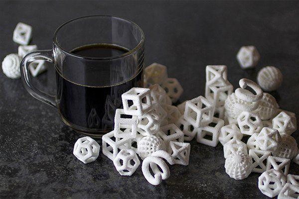 Fabulosas balas fabricadas com a  impressora ChefJet da 3DSystems