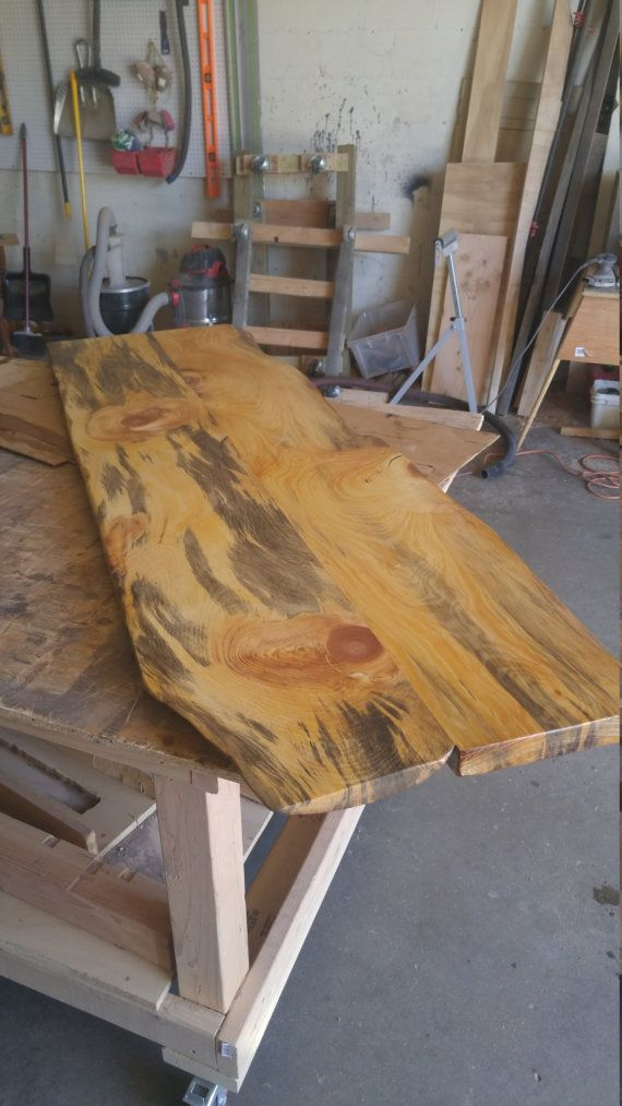 Finished Live Edge Desk Top Or Coffee Table Slabs 16 21 Wide Max Kiln Dried Wooden Slab Table Slab Table Wood Slab
