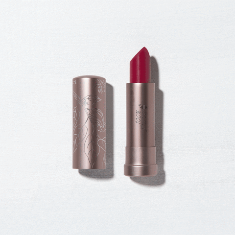 A semi-matte, opaque, long-wearing lipstick that ensures your lip color always looks vibrant, rich and full, never dry. Formulated with healthy fruit pigments and a nourishing blend of cocoa butter, shea butter and vitamin E to moisturize while providing intensely rich color. Vegan.