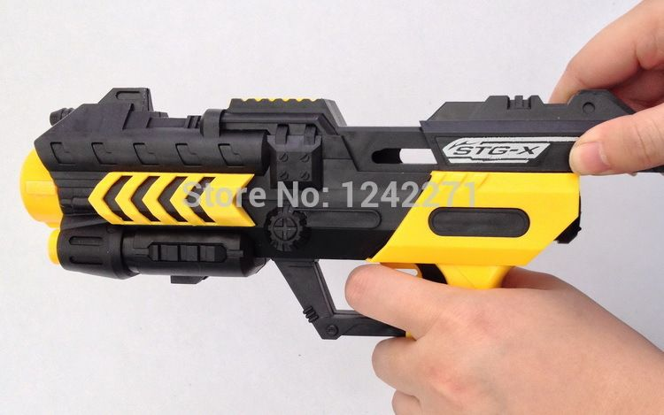 Soft Bullet Gun Paintball Gun Pistol Plastic Toys CS Game Shooting Water  Crystal Gun Nerf Air